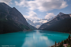 Clouds Paint the Sky (Samantha Decker) Tags: ab alberta banffnationalpark canada canadianrockies canonef24105mmf4lisusm canoneos6d lakelouise nd parkscanada rockymountains samanthadecker longexposure neutraldensity