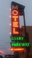 (sftrajan) Tags: motel neon sign evening night therichmond gearyboulevard