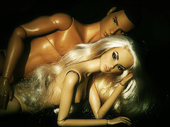 Tag game: Doll couple (nauriel :-)) Tags: fashion royalty francisco leon hypnotic vanessa perrin edge integirty toys