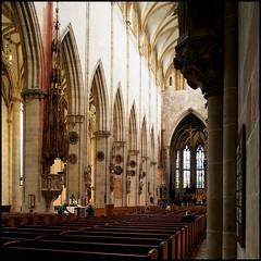 Ulmer Münster (HOR-BS 696) Tags: berndsontheimer badenwürttemberg ulmdonau ulm ulmermünster münster kirche kirchenschiff eglise curch gotik gewölbe gotteshaus ulmmuenster gothicchurches