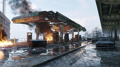 The Division | 4k (screenreel) Tags: thedivision graphics digitalart abandoned fire building cars street winter cold atmosphere lights sky dark snow smoke gaming city road dirt reflection destroyed fuel fuelstatiom bridge trees antenna asphalt recycle bin
