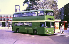 Slide 121-26 (Steve Guess) Tags: london country northeast bus stevenage herts hertfordshire england gb uk leyland atlantean an strathclyde alexander