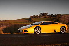 Lamborghini Murcielago (NGztER™) Tags: lamborghini murcielago yellow fightingbull italian supercar luxury fast exotic carphotographer automotivephotography