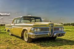 Ford Edsel Corsair 1959 (metsemakers) Tags: ford edsel 1959 sony a7ii tamron reuver limburg netherlands usa car