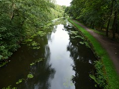 2018-09-03_08-52-39 (ste dee) Tags: canal leedsliverpoolcanal haigh towpath walkway waterripples waterreflection trees panasonic fz72 watetway