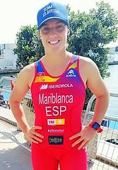 Copa de #Europa de #Triatlón Ana Mariblanca team clavería #ETUValencia élite femenina