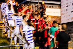 Lewes 1 Farnborough 1 Lewes pens FAC 12 09 2018-1.jpg (jamesboyes) Tags: lewes farnborough football nonleague soccer fussball calcio voetbal amateur facup tackle penalty shootout pitch canon 70d dslr