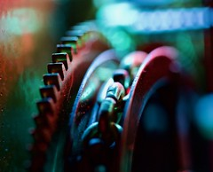The Grind (johnsinclair8888) Tags: color gear cog chain nikon johndavis 105mm sigma hmm secondshot