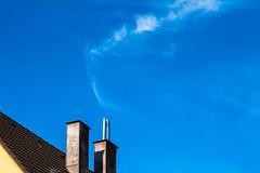 18-09-11 pan nah wolk schorn  object  _dsc0294 (ulrich kracke (many thanks for more than 1 Mill vi) Tags: nah rauch schornstein sidelit sonnenaufgang wolkezart object cof036 cof036mark cof036dmnq sundaylights