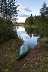 By the quiet lake (A blond-Tess) Tags: lake dalarna canoe peaceful quietness serene serenity nature outdoorphotography land sweden sörsjön evening latesummer canonphotography tessaxelsson sigma1750mmf28
