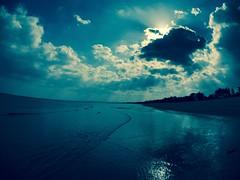 津の海5/SeaScape5 (YUKARI_TAKAMURA) Tags: sea water landscape sky bay blue bleu blau blu azul meer mare mer mar wave ola onda welle mie ambient landshaft paisaje passagio paysage seascape cloud