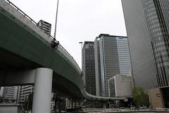 Undulate Expressway (yukky89_yamashita) Tags: 大阪市 阪神高速道路 expressway osaka cloudy