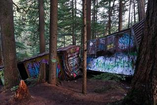 Train Wreck, Whistler 2016