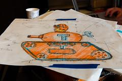 2018 Buskers in the Burg, Workshop (Dennis Valente) Tags: 2018 buskersintheburg workshop trump art drawing ellensburg puppet winduptoy toytank militaryparade 5dsr design usa washington pnw puppetry giantpuppet