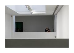 interieur (godelieve b) Tags: inside gent belgium musée intérieur architecture blanc white espace perspective noncoloursincolour smak ouverture opening empty