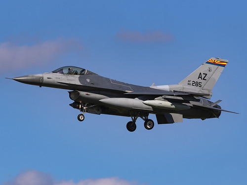 United States Air Force | General Dynamics F-16C Fighting Falcon | 86-0285