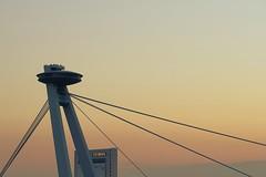 Lines (No_Mosquito) Tags: sunset city urban canon powershot g7xmarkii bratislava slovakia bridge modern abstract construction