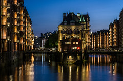 Speicherstadt blue hour (Marco Miserini) Tags: hamburg amburgo germany longexposure bluehour speicherstadt