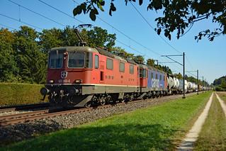 SBB Cargo Re 420 343-6 & Re 620 082-8