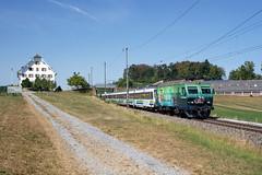 SOB 446 016, Freienbach, 9 augustus 2018 (Bart Donker) Tags: sob südostbahn re446 freienbach pfäffikon voralpenexpress vae sbb