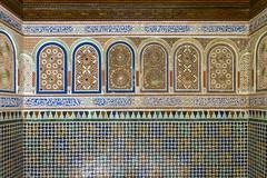 2018-4708 (storvandre) Tags: morocco marocco africa trip storvandre marrakech historic history casbah ksar bahia kasbah palace mosaic art
