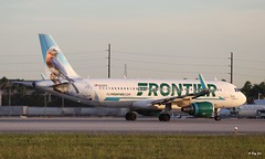 Airbus 320 (N230FR) Frontier Airlines (Mountvic Holsteins) Tags: airbus 320 n230fr frontier airlines mia miami international airport