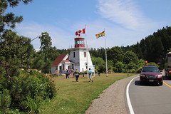 St. Martins Lighthouse (New Brunswick, Canada) - St. Martins and Bay of Fundy Express Excursion Pictures - (Adventure of the Seas - July 31st, 2018) (cseeman) Tags: adventureoftheseas royalcaribbean royalcaribbeansadventureoftheseas adventureoftheseasjuly27aug32018 adventurejuly272018 cruise newenglandandcanadacruise saintjohn canada newbrunswick newbrunswickcanada atlanticcanada atlanticcanada2018 saintmartins stmartins bayoffundy stmartinsnewbrunswick stmartinsandbayoffundyexpress stmartinsandbayoffundyexpressexcursion lighthousesofatlanticcanada lighthousesofnewbrunswick lighthousesofcanada lighthouses lighthousesoftheatlanticocean shore oceans atlanticocean ornamentallighthouse reproductionlighthouse rclighthouses2018 stmartinslighthouse saintmartinslighthouse woodenlighthouse replicalighthouse