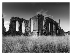 Byland Abbey, North Yorkshire (johnhjic) Tags: northyorkshire long bw blackandwhite north yorkshire moss exposure green brown slow blue x1d hasselblad johnhjic stone stones landscape byland abbey bylandabbey