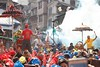 The assembly of Godesses. (ujjal.maharjan) Tags: people jatra festival fun nepal diversity strength vintage culture architecture demigod god tradition mystic values ethnicity newar newari nepali chariot antique ancient significance panchare bisket indra yenya punhi bhairav ganesh bhaktapur kathmandu patan goddess shakti power followers pilgrimage pilgrims streetfestival ritual event