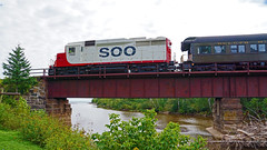 Soo Line GP30 700, Knife River - Knife River MN USA, 09/22/18 (TonyM1956) Tags: elements sonyalphadslr sonyphotographing trains