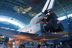 Space Shuttle Discovery 6 (PDX Bailey) Tags: aviation air space smithsonian museum udvarhazy center steven shuttle discovery virginia national hangar nasa united states available light olympus em1 spaceshuttle