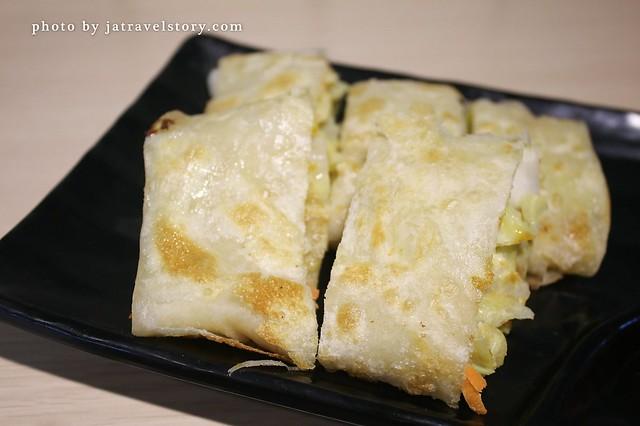 凱琳手作蛋餅 酥脆餅皮搭配脆甜高麗菜很清爽!【捷運市政府】 @J&A的旅行
