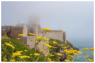Fort-La-Latte dans la brume