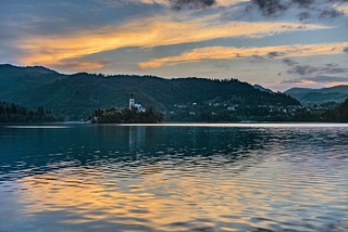*Evening mood on Lake Bled*