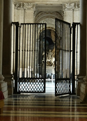 Barred Chapel (edenpictures) Tags: rome roma italy italia vaticancity thevatican st peters sculpture statue