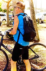 Fest Guys (LarryJay99 ) Tags: pridefest2018 2018 lakeworth florida festival biker man men guy guys dude male studly manly dudes handsome blue legs urbanbackpacker nape glasses
