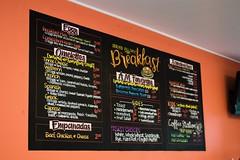 Breakfast Board (Pixel & Smudge) Tags: chalkart chalkboard art chalk
