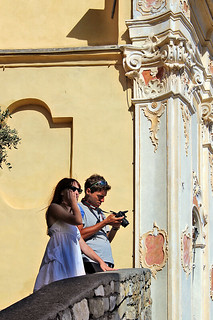 Taking pictures in Cervo