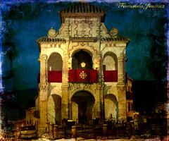 Camarín de el Portichuelo (Antequera, Málaga) (alanchanflor) Tags: arco antequera málaga andalucía españa europa canon nocturna color textura