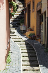 places - vicolo nemi (Klaatu66) Tags: italy street vicolo olympus em5 omd 12100pro nemi