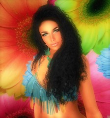 Stealthic-Somber (bentouttashape) Tags: hair stealthic somber hippie ethnic sl secondlife avatar laq 7 deadly addams