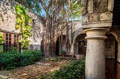 Inner yard. (catrall) Tags: mexico yucatan campeche inneryard yard curtilage innercourtyard nikon d750 fx sigma sigmalens 24105 march 2018 haciendapuertacampeche