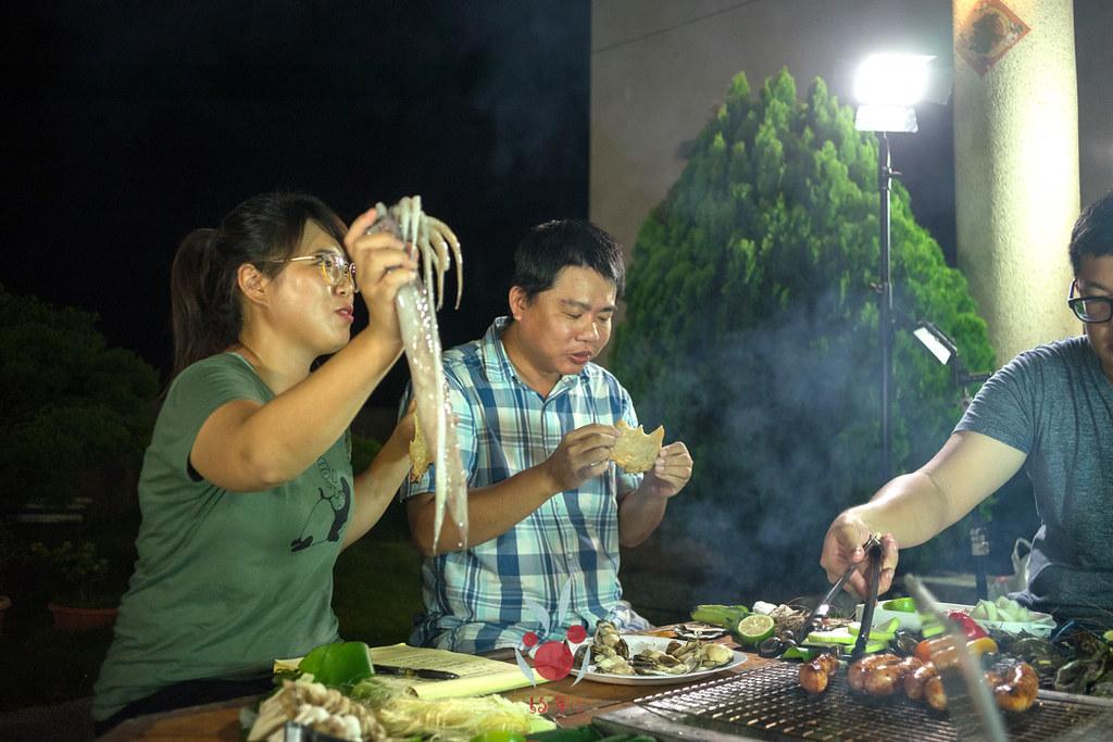 最奢華的中秋烤肉組 海鮮大集合之 龍膽石斑、泰國蝦、蚵、大卷 |小農聯盟18