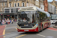 Lothian 45 BT64LJA (busmanscotland) Tags: lothian 45 bt64lja bt64 lja volvo 7900h 7900 hybrid