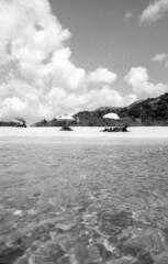By the sea - Solanas (Sardinia)- August 2018 (cava961) Tags: solanas sea beach shore analogue analogico monocromo monochrome bianconero bw