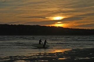 Sunset Life-saver Training