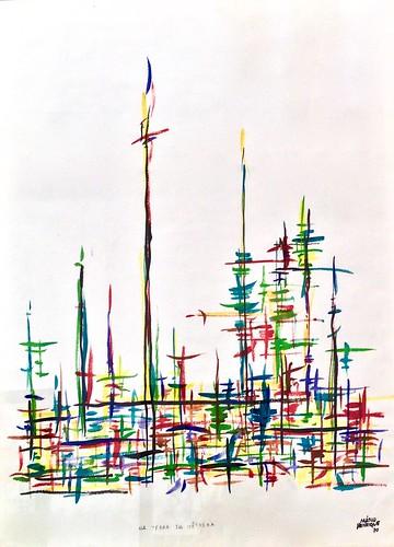 "On the loquat land (""Na terra da nêspera"")(1970) - Mário Henrique Leiria (1923-1980)"