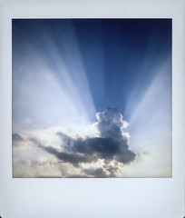 Light (Italian Film Photography) Tags: light sky sun eays clouds obscured minimal landscape cielo nuvole raggi sole velato minimale paesaggio abstract instant istantanea film analogica pellicola fujifilm instax square sq6