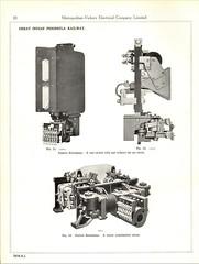Metropolitan Vickers Catalogue 1938/9 - Page 10 (HISTORICAL RAILWAY IMAGES) Tags: metropolitan vickers catalogue locomotives railway india gipr