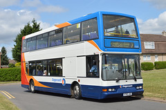Stagecoach East Midlands 17650 X793JHG 11/7/15 (Lincolnshire Bus Stop) Tags: stagecoacheastmidlands dennistrident eastlancs lolyne 17650 x793jhg denniss magicbus greatermanchester lincoln